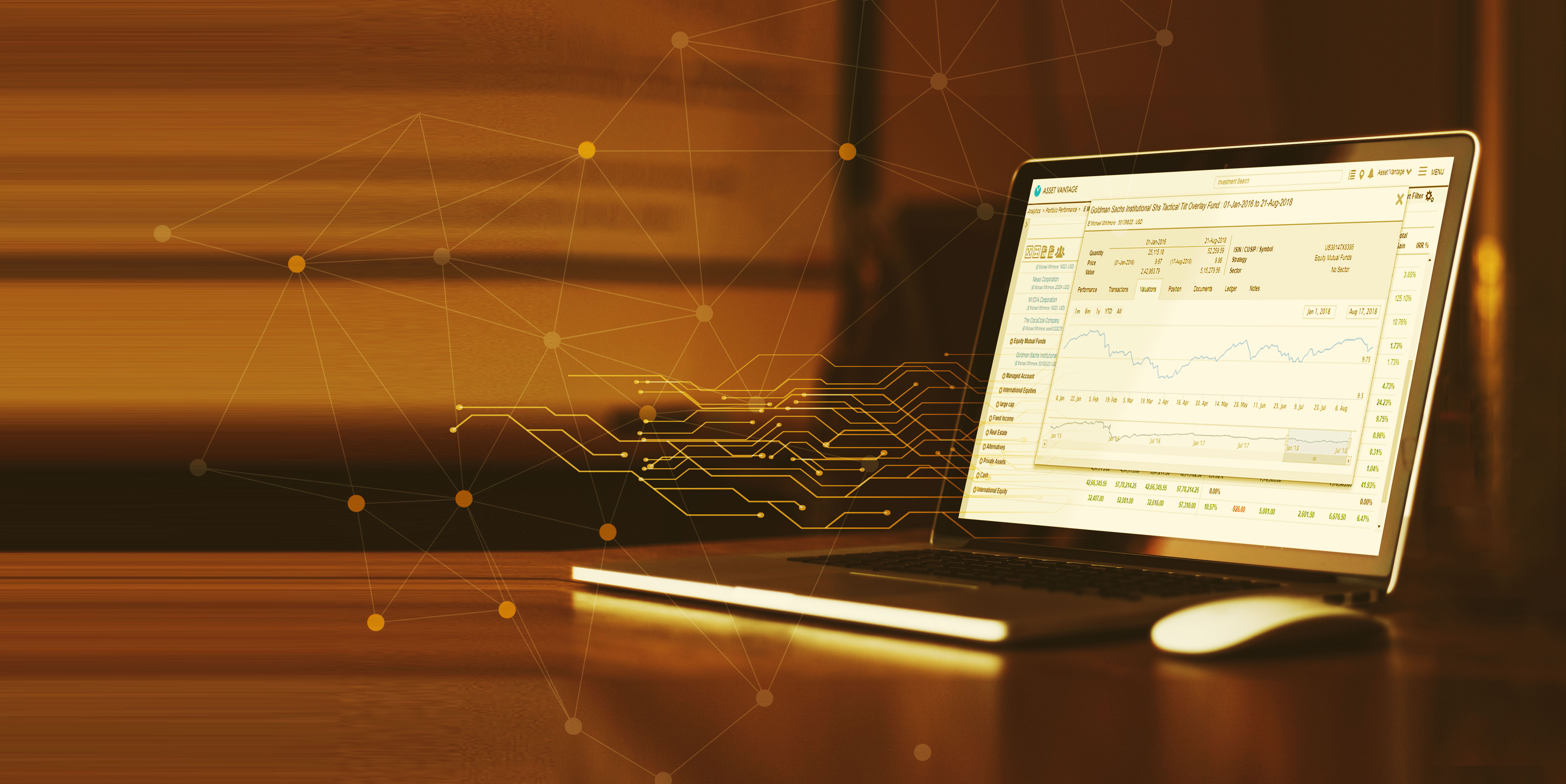 An integrated accounting & performance <br> reporting platform for Family Offices.